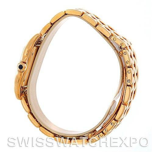 5171 Cartier Panthere Ladies 18k Yellow Gold Watch W25022B9 SwissWatchExpo