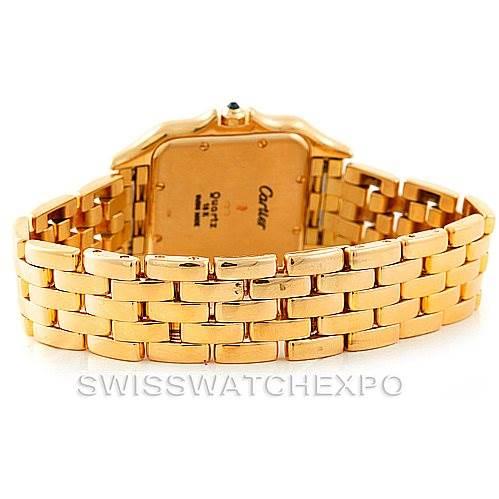 6928 Cartier Panthere XL 18k Yellow Gold Watch W25014B9 SwissWatchExpo