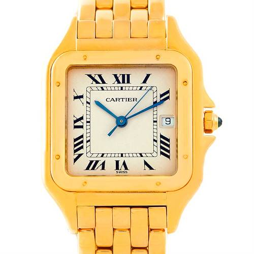 Photo of Cartier Panthere XL 18k Yellow Gold Watch W25014B9