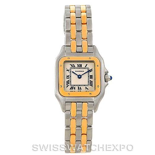 6511 Cartier Panthere Ladies Steel 18K Yellow Gold Watch W25029B6 SwissWatchExpo