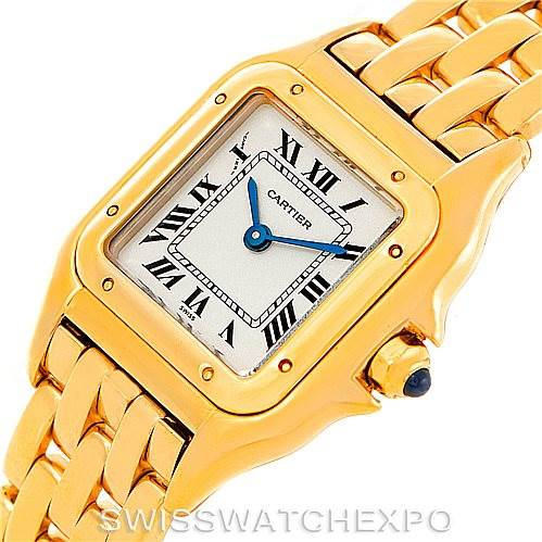 6546 Cartier Panthere Ladies 18k Yellow Gold Watch W25022B9 SwissWatchExpo