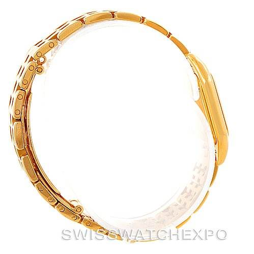 7429 Cartier Panthere Ladies 18k Yellow Gold Watch W25022B9 SwissWatchExpo