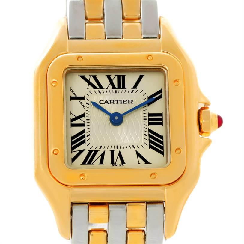 8540 Cartier Panthere Ladies 150 Anniversary Limited Edition Watch W25046S1 SwissWatchExpo