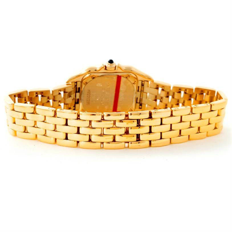 8773 Cartier Panthere Ladies 18k Yellow Gold Watch W25022B9 - partial payment SwissWatchExpo