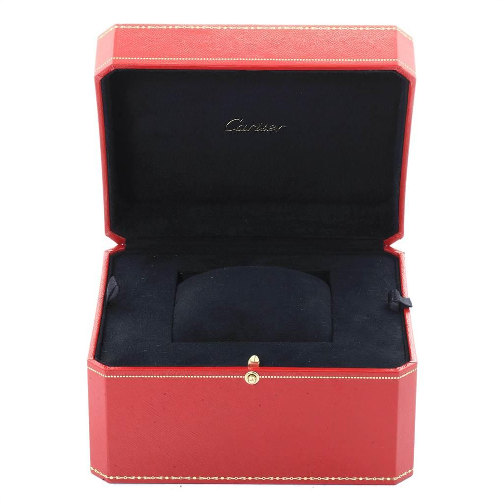 Cartier Tank Americaine 18K White Gold Ladies Watch W2601956 SwissWatchExpo