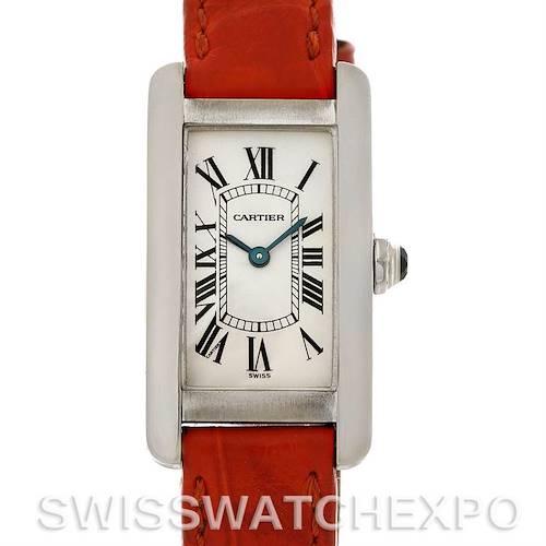 Photo of Cartier Tank Americaine 18K White Gold Watch W2601956