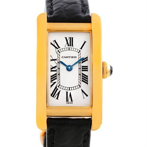 Photo of Cartier Tank Americaine 18K Yellow Gold Watch W2601556