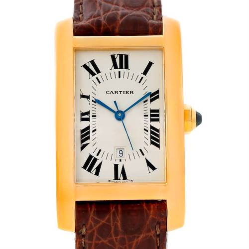 Photo of Cartier Tank Americaine Midsize 18K Yellow Gold Watch