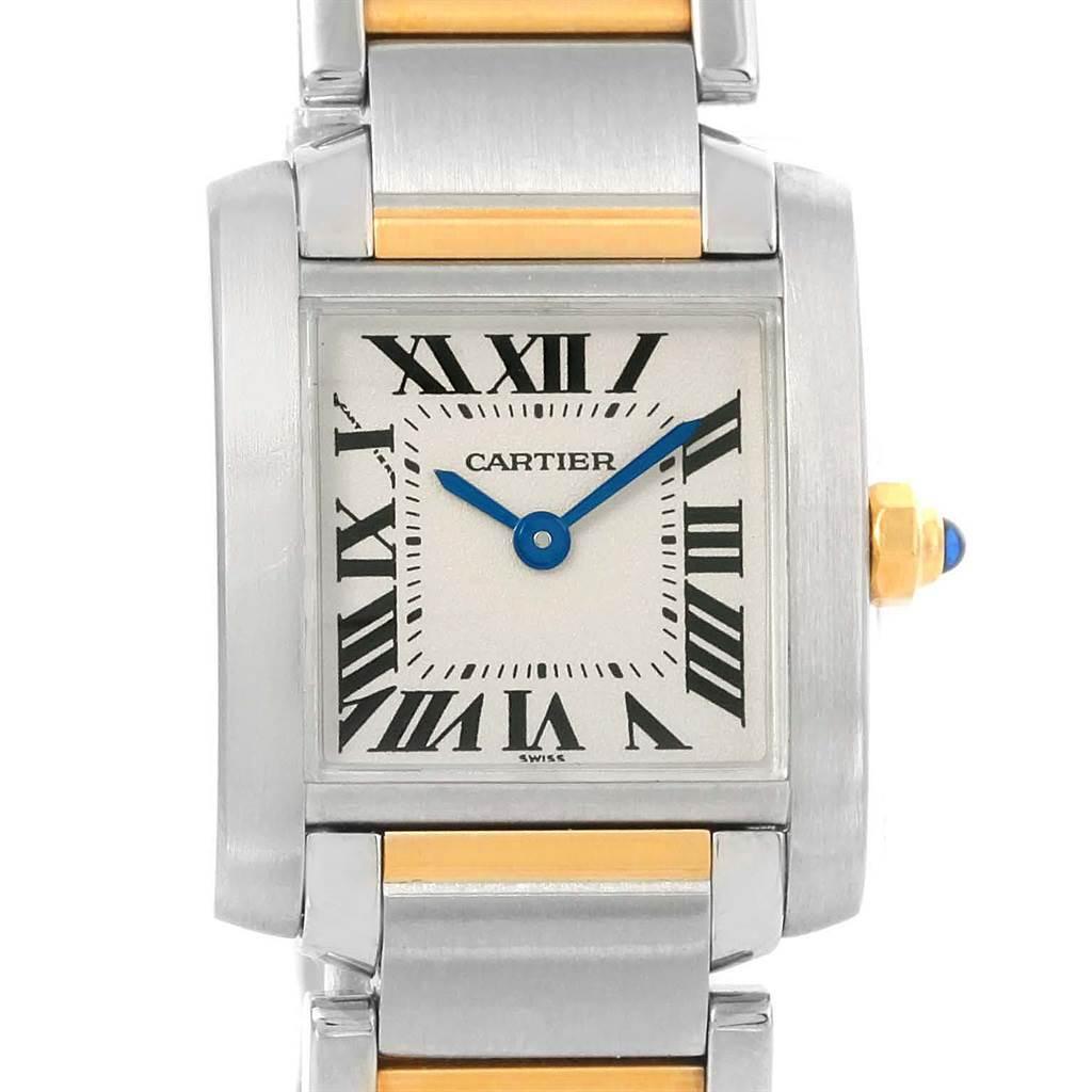 ... 14467 Cartier Tank Francaise Steel Yellow Gold Quartz Ladies Watch  W51007Q4 SwissWatchExpo ...