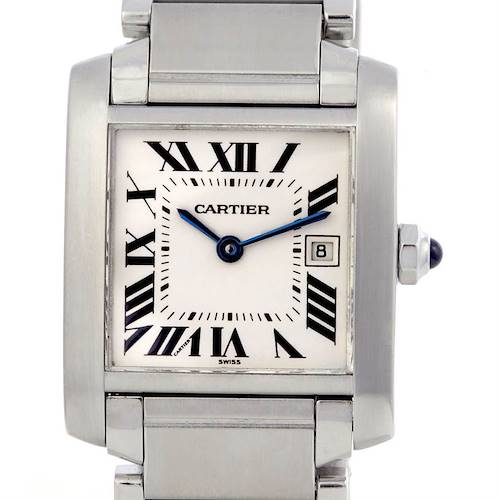 Photo of Cartier Tank Francaise Midsize Ladies Steel Watch W51011q3