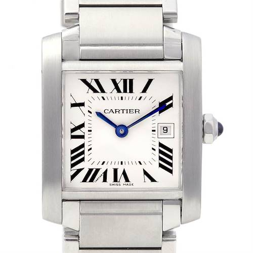 Photo of Cartier Tank Francaise Ladies Ss Midsize W51011q3