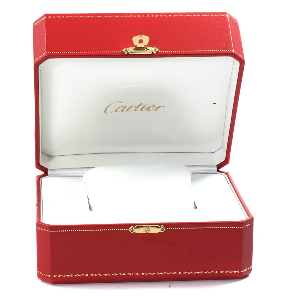 19115 Cartier Tank Francaise White Gold Quartz Ladies Watch W50012S3 SwissWatchExpo