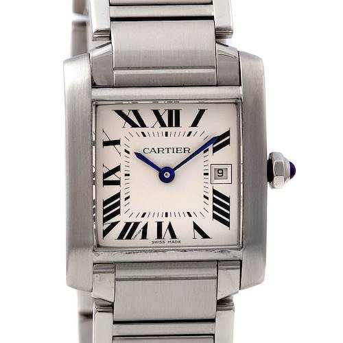 Photo of Cartier Tank Francaise Ladies Steel Midsize W51011q3