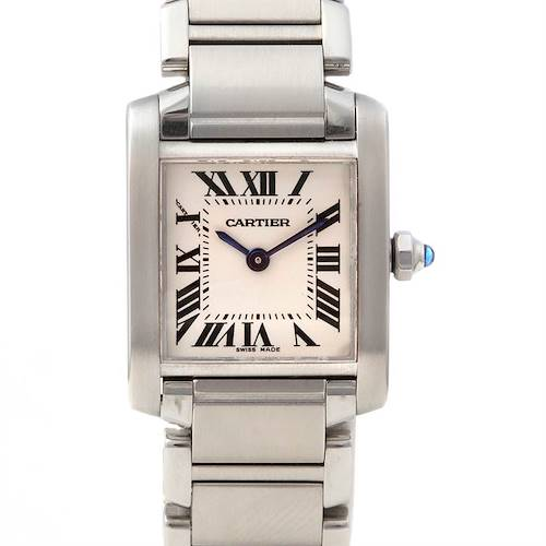 Photo of Cartier Tank Francaise Ladies Small Ss Watch W51008q3
