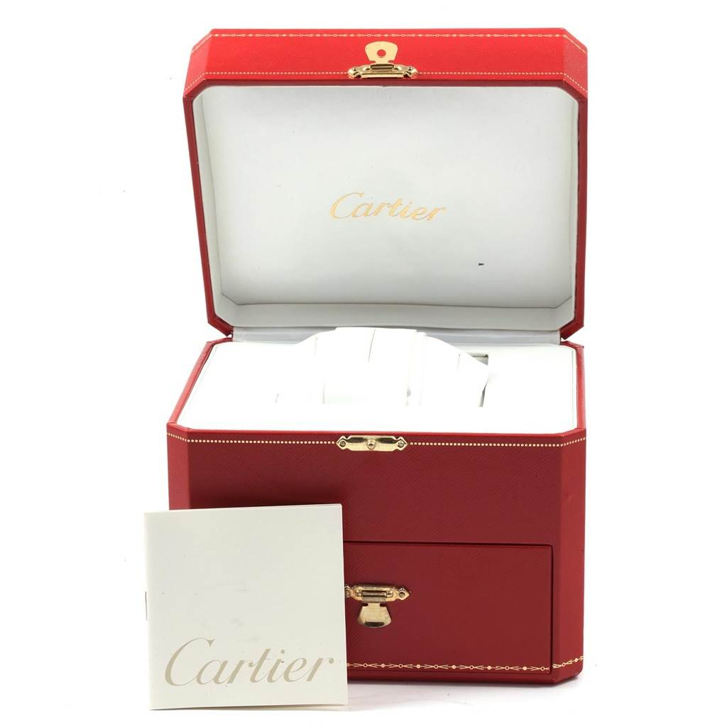 21203 Cartier Tank Francaise Yellow Gold Quartz Ladies Watch W50002N2 SwissWatchExpo