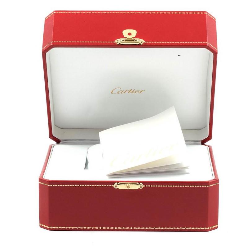 Cartier Tank Francaise Steel 18k Rose Gold MOP Ladies Watch W51027Q4 SwissWatchExpo