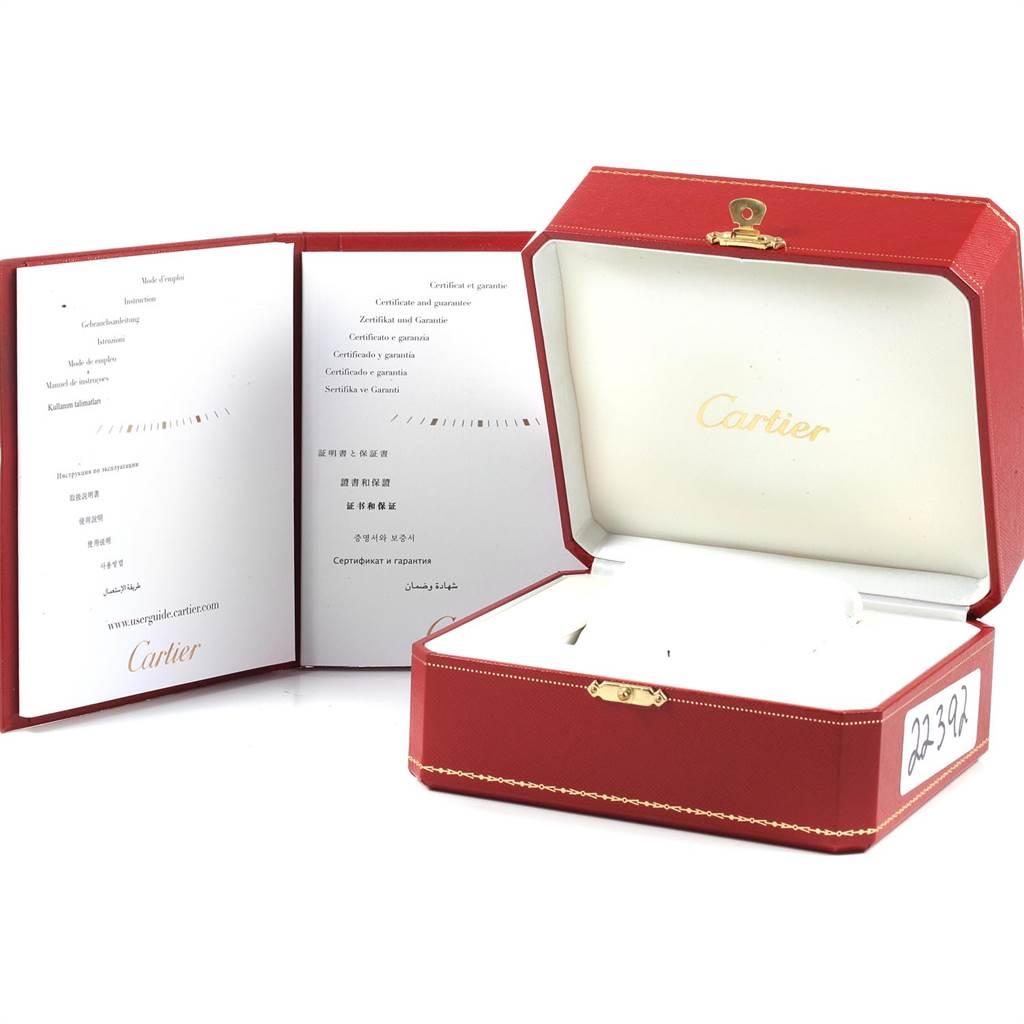 Cartier Tank Francaise Midsize Diamond Ladies Watch WE110007 Box Papers SwissWatchExpo