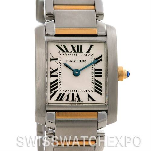 Photo of Cartier Tank Francaise Small Ss & 18k y Gold W51007q4
