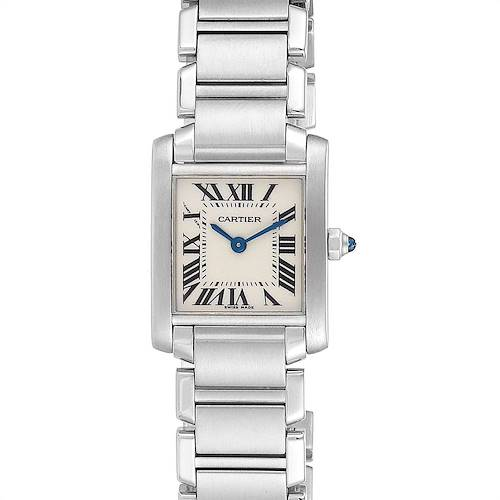 Photo of Cartier Tank Francaise 20mm Silver Dial Steel Ladies Watch W51008Q3