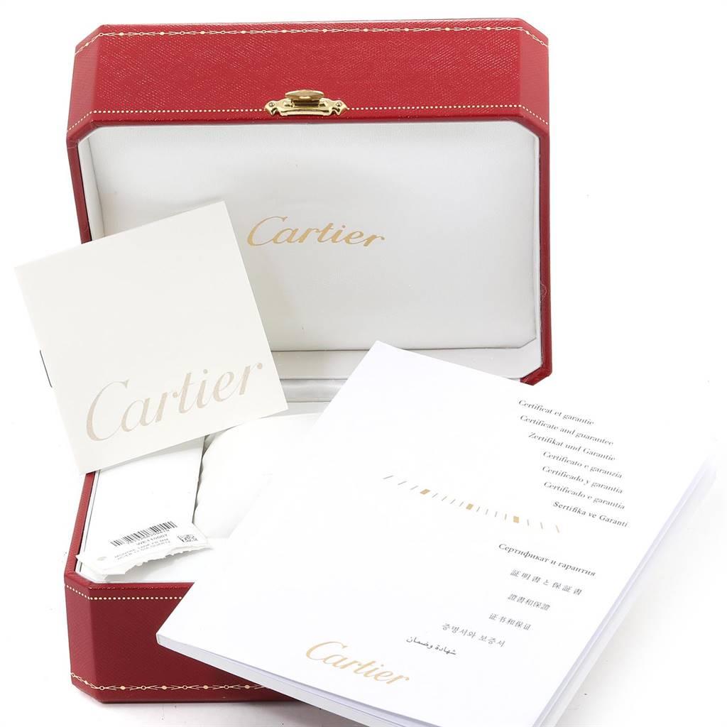 25040 Cartier Tank Francaise Midsize Diamond Steel Ladies Watch WE110007 SwissWatchExpo