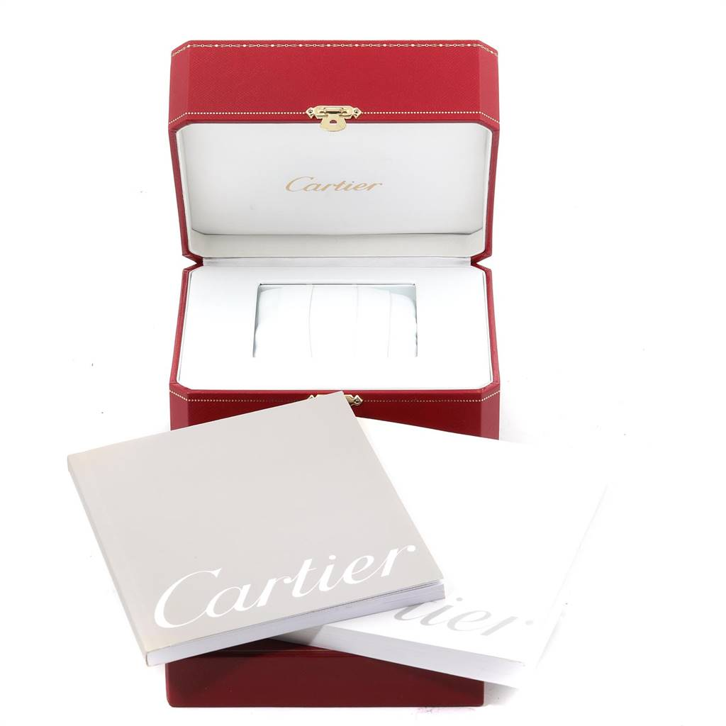 24728 Cartier Tank Francaise Small Steel Ladies Watch W51008Q3 Box Papers SwissWatchExpo
