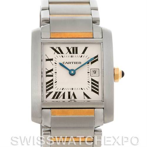 Photo of Cartier Tank Francaise Midsize SS/18K Y Gold W51012Q4