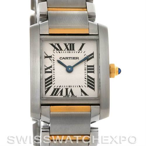 Photo of Cartier Tank Francaise Small SS and 18K Y Gold W51007Q4