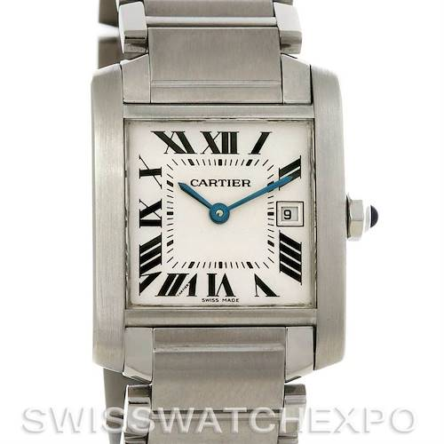 Photo of Cartier Tank Francaise Midsize Steel W51011Q3
