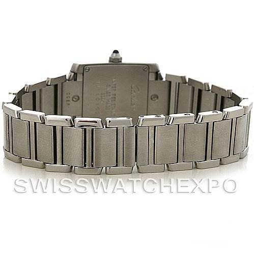 2892 Cartier Tank Francaise Ladies Steel Watch W51008Q3 SwissWatchExpo