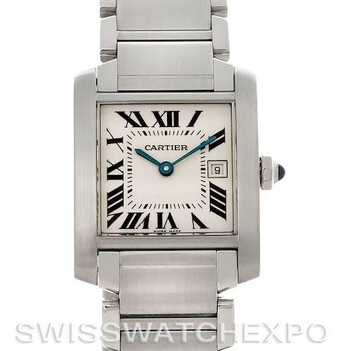 Photo of Cartier Tank Francaise Midsize Steel W51011Q3 Watch