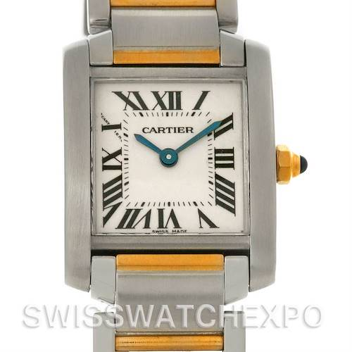 Photo of Cartier Tank Francaise Small Steel and 18k Yellow Gold W51007Q4