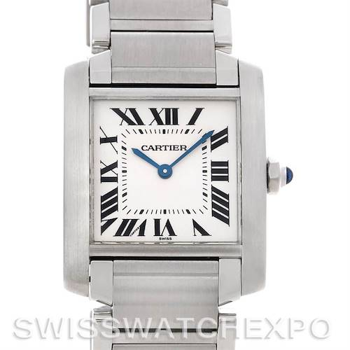 Photo of Cartier Tank Francaise Midsize Stainless Steel Watch