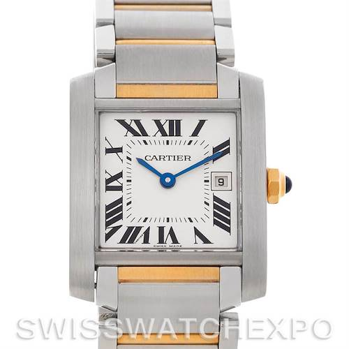 Photo of Cartier Tank Francaise Midsize Steel 18k Gold W51012Q4
