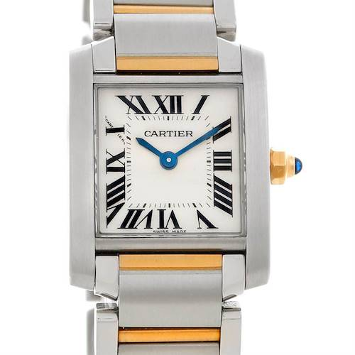 Photo of Cartier Tank Francaise Ladies Steel and 18k Gold W51007Q4