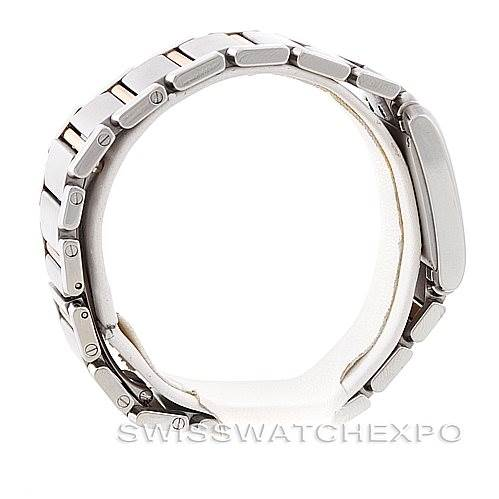 6916 Cartier Tank Francaise Midsize Steel 18k Gold W51012Q4 SwissWatchExpo