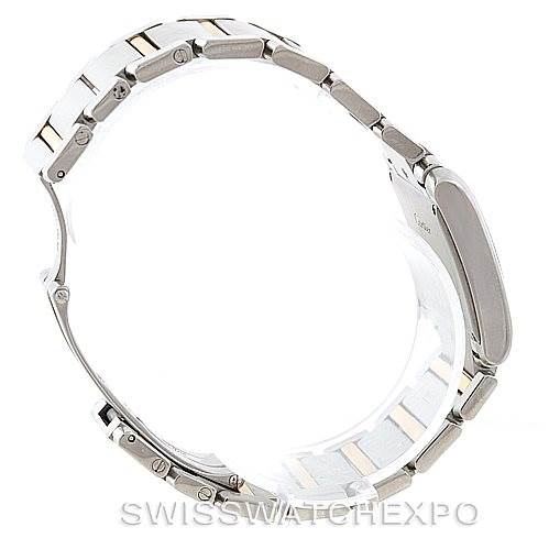 7097 Cartier Tank Francaise Midsize Steel 18k Gold Watch W51012Q4 SwissWatchExpo