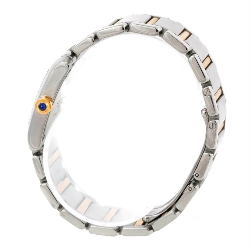 9088 Cartier Tank Francaise Midsize Steel 18k Gold Watch W51006Q4 SwissWatchExpo