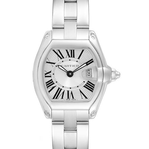 Photo of Cartier Roadster Silver Dial Ladies Stainless Steel Watch W62016V3