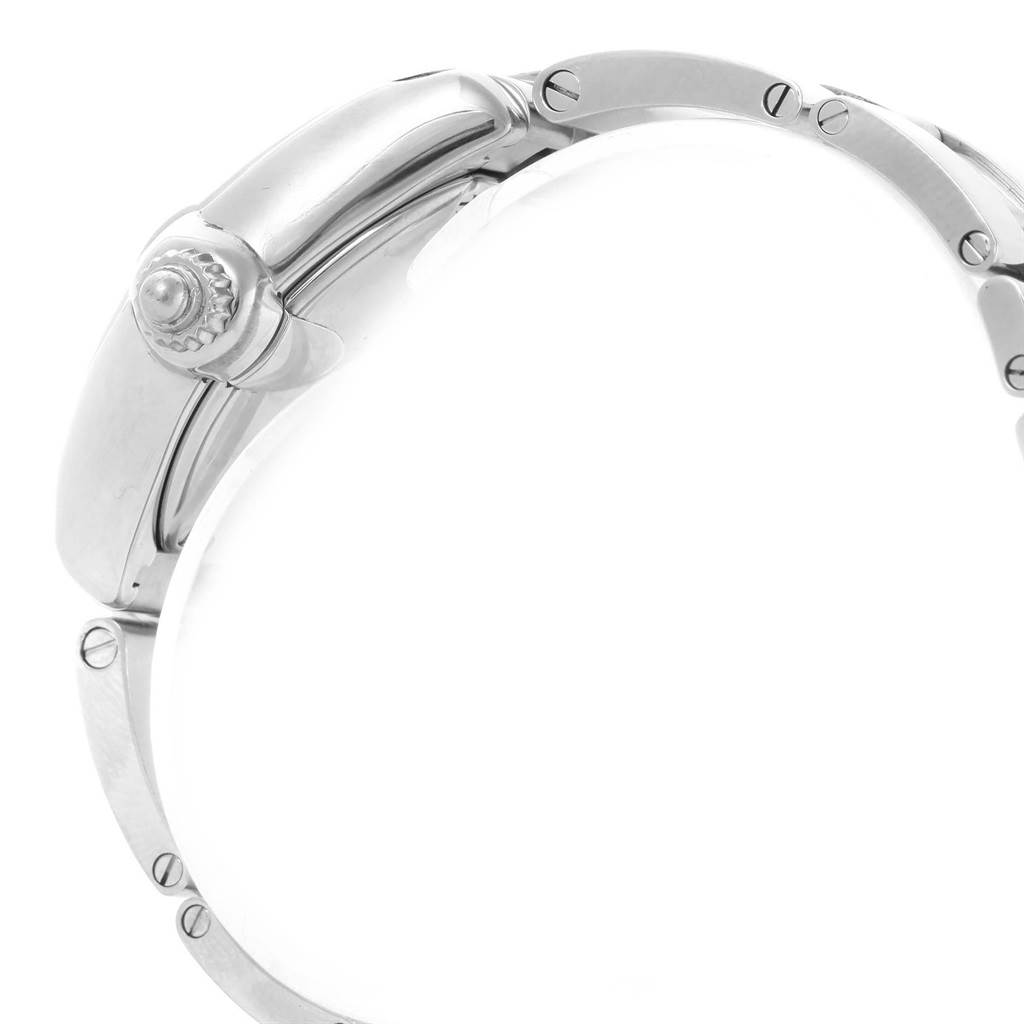 14655 Cartier Roadster Silver Dial Quartz Ladies Watch W62016V3 SwissWatchExpo