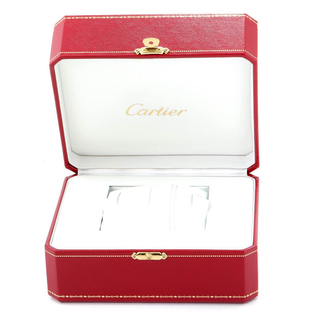 22878 Cartier Roadster Coral Dial Limited Edition Steel Ladies Watch W62054V3 SwissWatchExpo