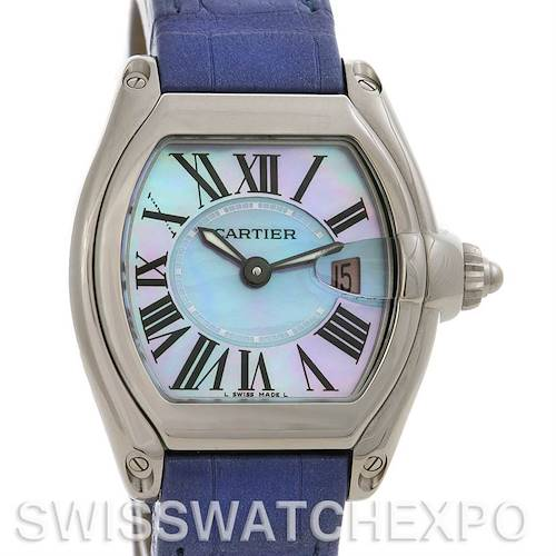 Photo of Cartier Roadster Ladies MOP Dial SS Watch W6206007