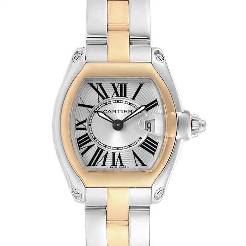 Photo of Cartier Roadster Steel 18K Yellow Gold Ladies Watch W62026Y4