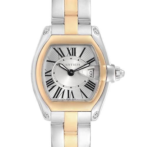Photo of Cartier Roadster Steel 18K Yellow Gold Ladies Watch W62026Y4