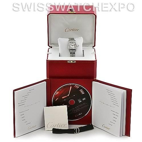 2729 Cartier  Roadster Ladies W62016V3 Box Extra Strap SwissWatchExpo