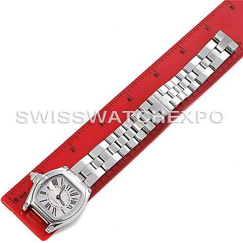 2898 Cartier Roadster Ladies W62016V3 Box Extra Strap SwissWatchExpo