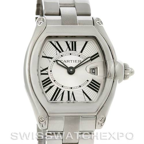 Photo of Cartier Roadster Ladies W62016V3 Box Extra Strap