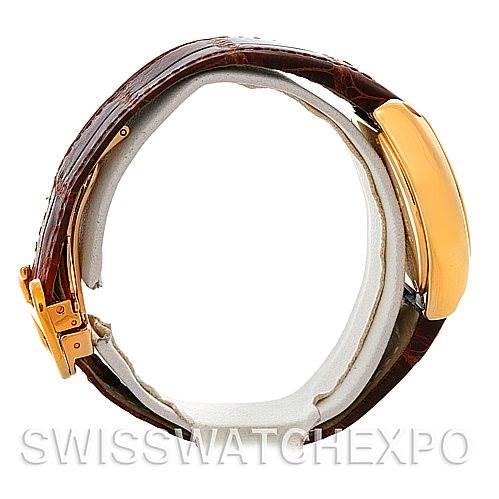 4774 Cartier Roadster Ladies 18K Yellow Gold watch W62018Y5 SwissWatchExpo