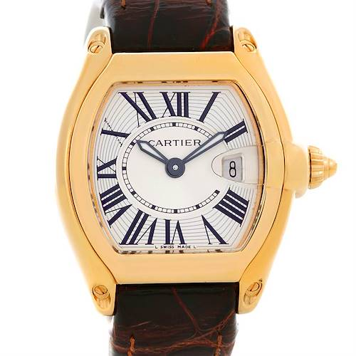 Photo of Cartier Roadster Ladies 18K Yellow Gold watch W62018Y5