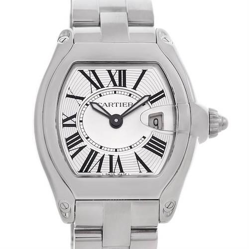 Photo of Cartier Roadster Ladies Steel Watch W62016V3