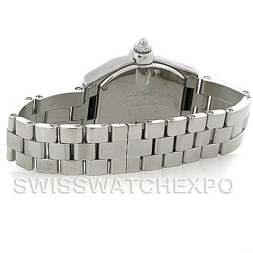 5405 Cartier Roadster Ladies Steel Watch W62016V3 SwissWatchExpo